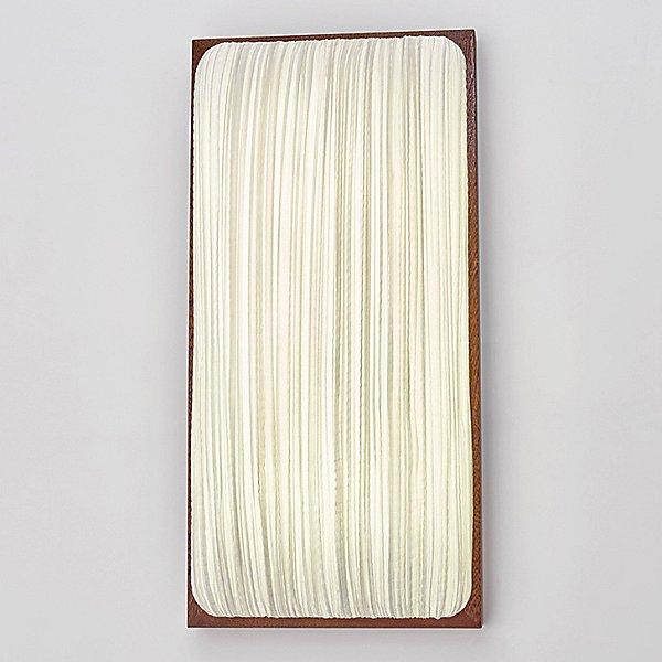 Simon Says Maybe with Mahogany LED Wall / Ceiling Light
