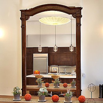Stand By 24 Inch LED Pendant Light / in use