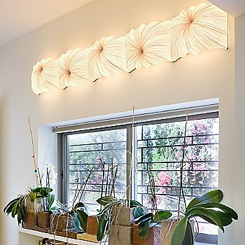 Zika LED Wall/Ceiling Light / in use