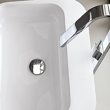 Chrome finish / in use