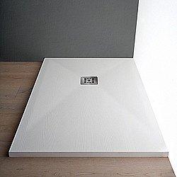 Woody Shower Tray (White/35 - 31X55) - OPEN BOX RETURN