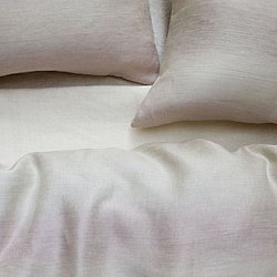VIVIENNE Euro Frenchback Pillowcase (Powder)-OPEN BOX RETURN