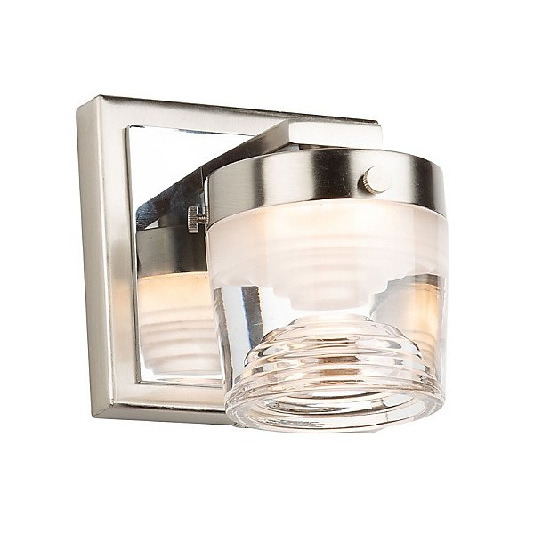 Huxe Leandro Led Bath Wall Sconce Ylighting Com
