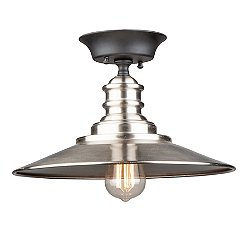 Alisia Semi-Flush Mount Ceiling Light