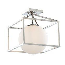 Lena Semi-Flush Mount Ceiling Light