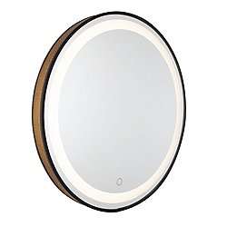 Alva Mesh Round LED Mirror