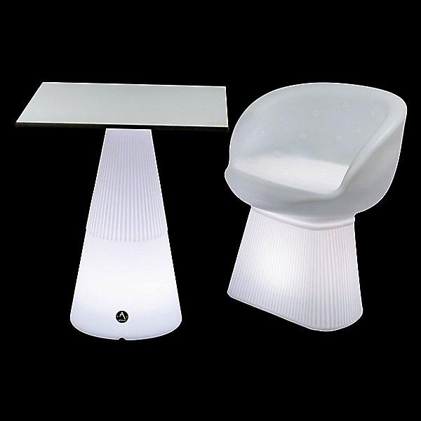 Provence Squara LED Table