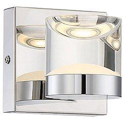 H2O 282710106 LED Bathroom Wall Sconce