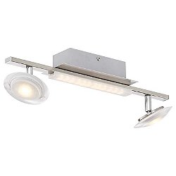 Santiago LED Adjustable Track Light