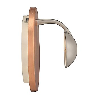 Copper with Silver finish