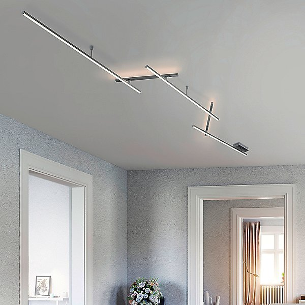 Highway Large LED Flush Mount Ceiling Light