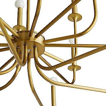 Antique Brass finish, in detail