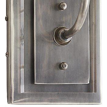 Vintage Silver finish