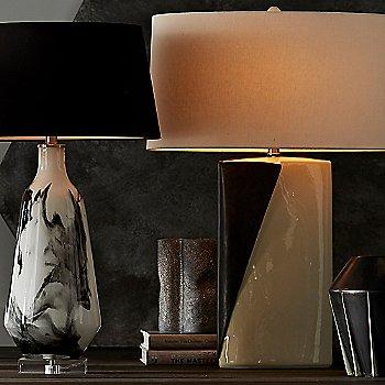Poe Lamp with Pompeii Lamp