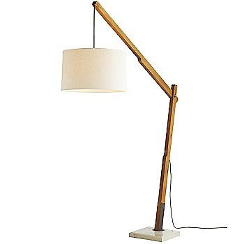 Shown in Natural finish with Brown color, lit