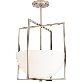 Shown in Vintage Silver finish