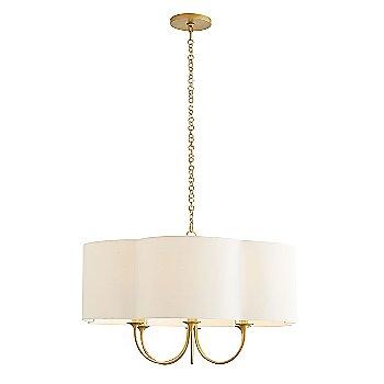 Antique Brass finish / Large size, lit