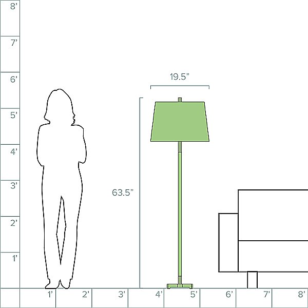 Frankfurt Floor Lamp