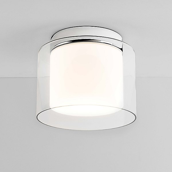 Astro Lighting Arezzo Semi Flush Mount, Bathroom Flush Mount Light