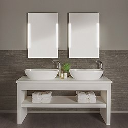 Lighted mirrors for the bathroom vanity ylighting imola led mirror aloadofball Gallery