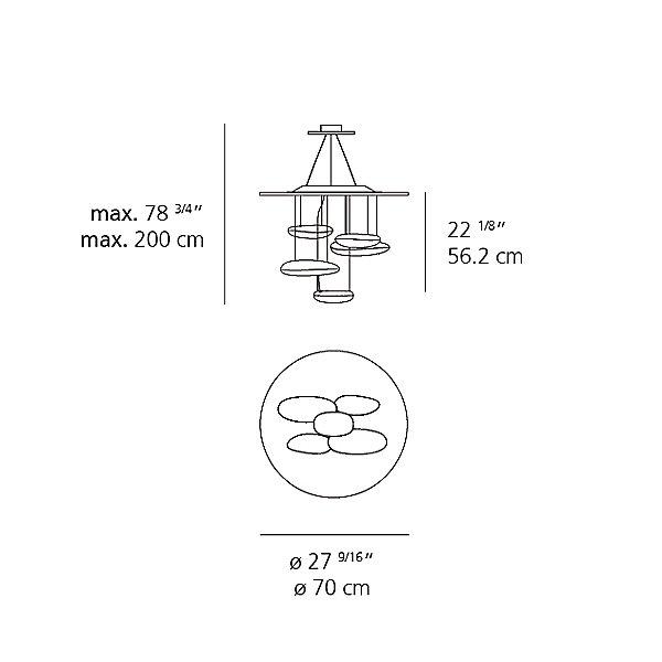 Mercury Mini LED Suspension