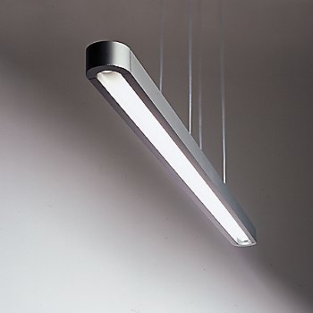 Shown lit in Silver/Grey finish