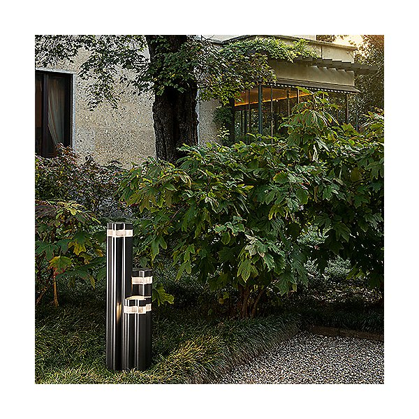Logico LED Outdoor Triple Garden Light
