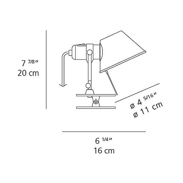 Tolomeo Micro Clip LED Spot