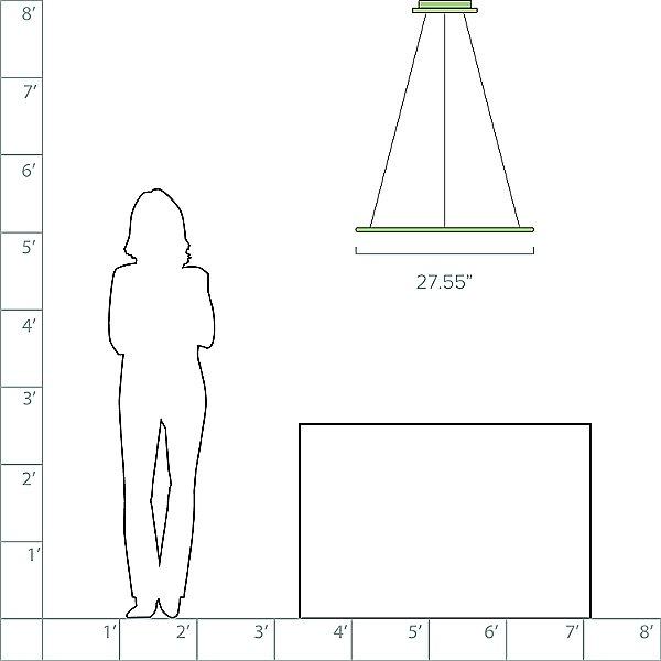 Discovery LED Pendant Light