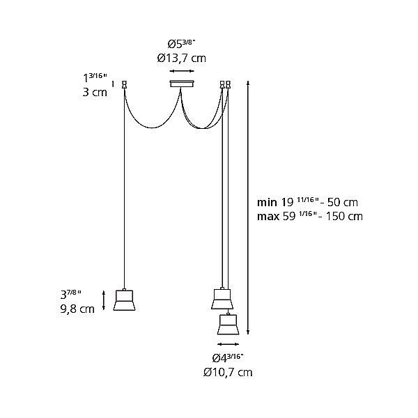 Gio Multi-Light Pendant Light