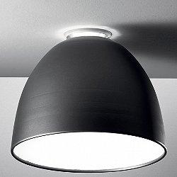 Nur LED Flushmount (Charcoal Grey/Small) - OPEN BOX RETURN