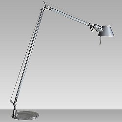 Tolomeo Reading Floor Lamp (Aluminum/LED) - OPEN BOX RETURN