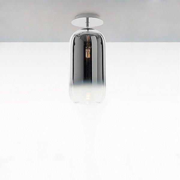 Gople Mini Semi-Flush Mount Ceiling Light