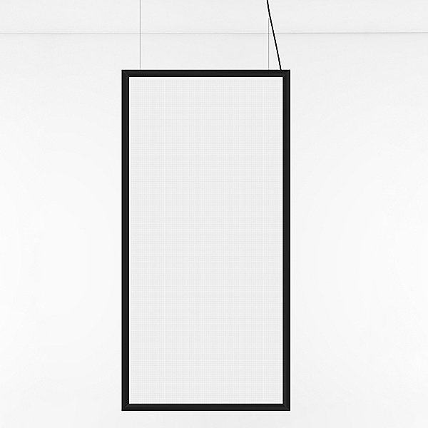 Discovery Space Rectangular LED Linear Suspension Light