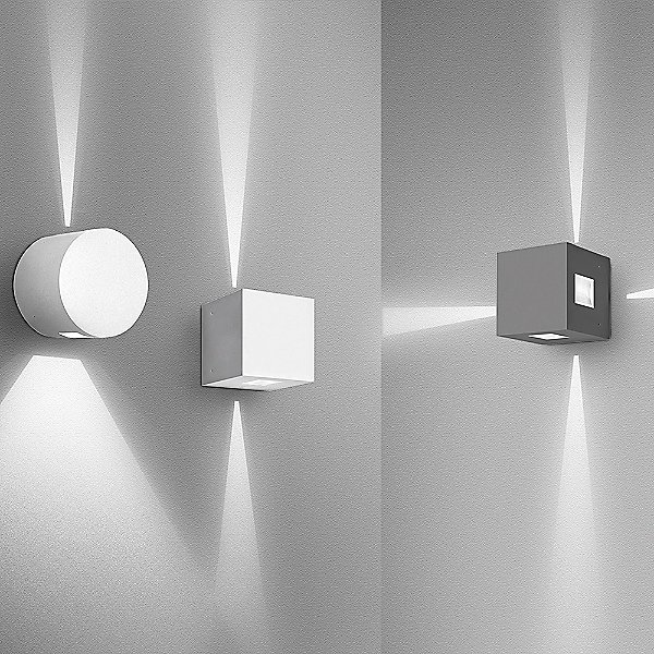 Effetto Square Outdoor LED Wall Light