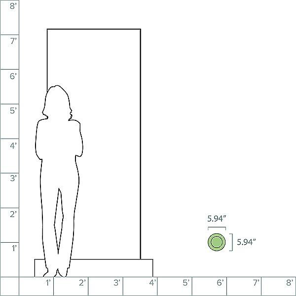 Ego Recessed Square Outdoor LED Floor Light