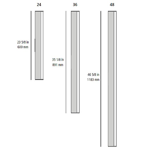 LEDbar 24 Inch LED Wall/Ceiling Light