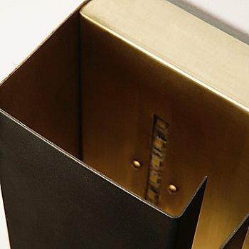 Darkened Brass, Detail view