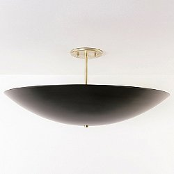 Dome Semi-Flush Mount Ceiling Light