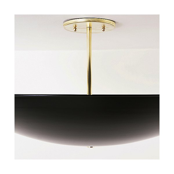 Dome Semi-Flush Mount Ceiling Light