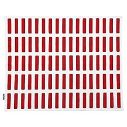 Siena Placemats (White/Red) - OPEN BOX RETURN