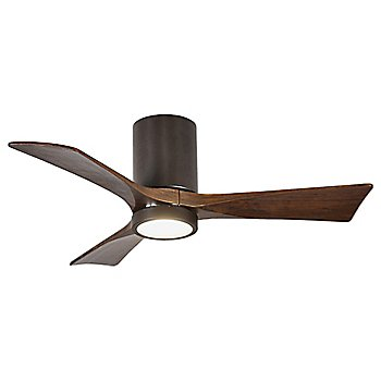 Textured Bronze Fan Body finish / Walnut Blade finish / 42 size