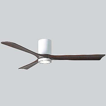 Gloss White Fan Body finish / Walnut Blade finish / 60 size