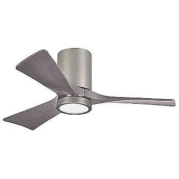 Brushed Nickel Fan Body finish / Barn Wood Blade finish / 42 size