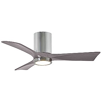 Polished Chrome Fan Body finish / Barn Wood Blade finish / 42 size