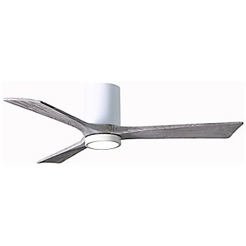 Gloss White Fan Body finish / Barn Wood Blade finish / 52 size