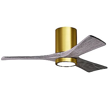 Brushed Brass Fan Body finish / Barn Wood Blade finish / 42 size