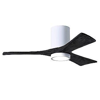 Gloss White Fan Body finish / Matte Black Blade finish / 42 size