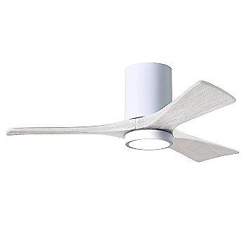 Gloss White Fan Body finish / Matte White Blade finish / 42 size