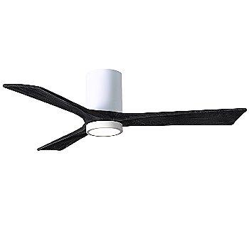 Gloss White Fan Body finish / Matte Black Blade finish / 52 size
